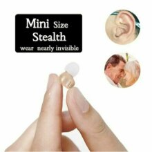In-Ear Hearing Aid Mini Invisible Inner Ears Sounds Amplifier Deafness Device