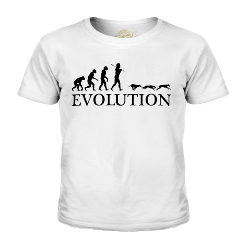 Candymix - Greyhound Racing Evolution - Unisex Kid's T-Shirt