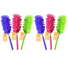 6pk Extendable Feather Duster   Long Handled Duster