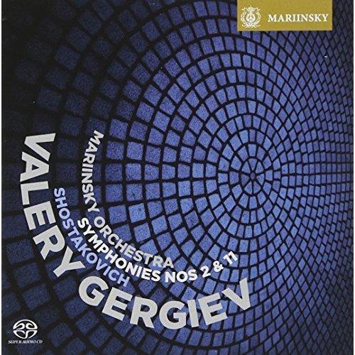 Mariinsky Orchestra and Chorus - Shostakovich: Symphony Nos. 2 and 11 (Mariinsky Orchestra and Chorus / Valery Gergiev) [CD]