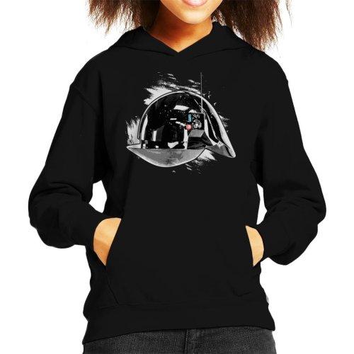 Original Stormtrooper Imperial Gunner Helmet Kid's Hooded Sweatshirt