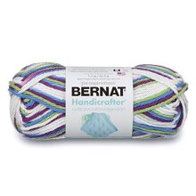 Bernat Handicrafter Cotton Yarn - Ombres, Fruit Punch Ombre