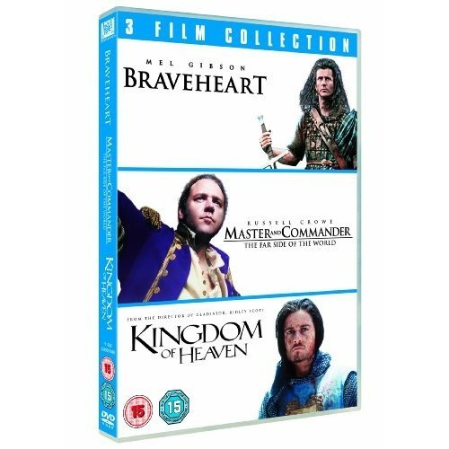 Braveheart / Master and Commander: the Far Side of the World / Kingdom of Heaven Triple Pack [dvd] [
