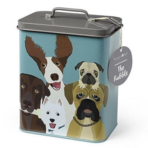 Pet Treat Tin - The Rabble Dog Tin - Dog Treat Tin