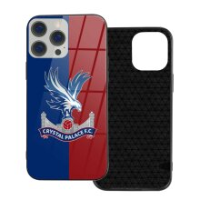 Crystal Palace FC Phone Cases Compatible with iPhone 12/ iPhone 12 Pro/ 12 Mini/ 12 Pro Max Glass Back Cover