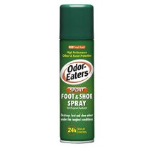 Odor-Eaters Sports Foot and Shoe Spray, 6 Pack