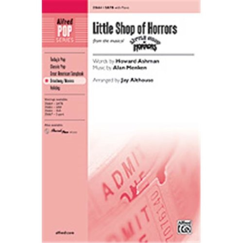 Alfred 00-35668 LITTLE SHOP OF HORRORS-STRX CD