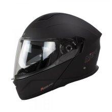 Nitro F350 Uno DVS Modular Flip Up Motorcycle Helmet Satin Black