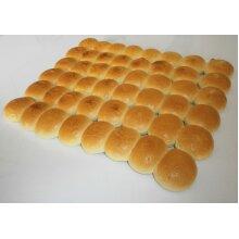 Barkers Frozen Mini Glazed Brioche Burger Buns 2inch/5cm - 1x48