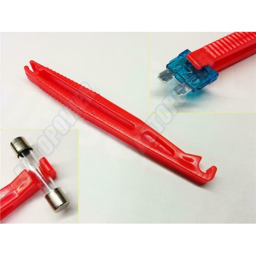 CAR ELECTRICAL SPARE ALL FUSE PULLER LONG FOR CAR FUSE BOX - fuse puller long-1