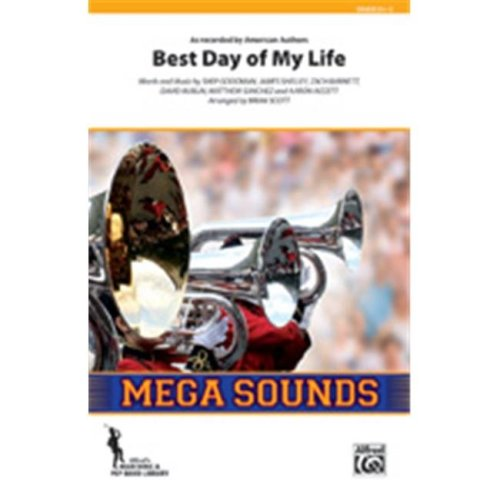 Alfred 00-42124S S Best Day Of My Life-Mss Book