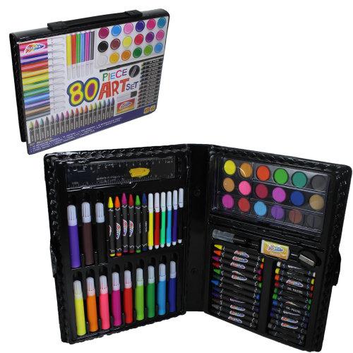 Disney/'s Cars 52 Piece Arts Crafts Set Child/'s Paint Colouring pens Pencils Kit