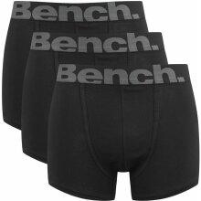 Bench Sutton 3 Pack Trunk Boxer Shorts Black