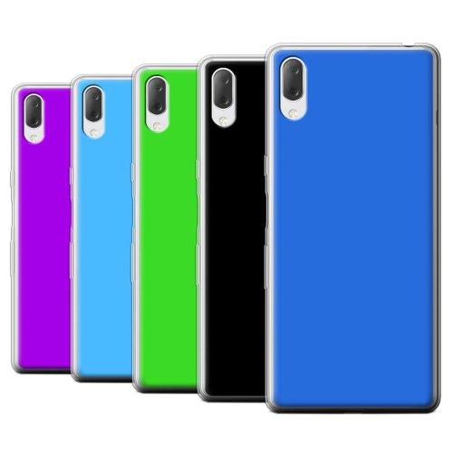 Colours Sony Xperia L3 2019 Phone Case Transparent Clear Ultra Soft Flexi Silicone Gel/TPU Bumper Cover for Sony Xperia L3 2019