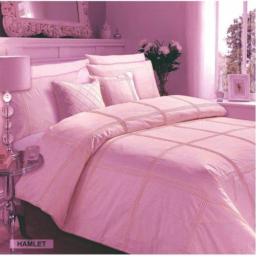 (Hamlet Duvet Cover (Pink King)) Luxury Hamlet Duvet Quilt Cover Bedding Set With Pillowcases