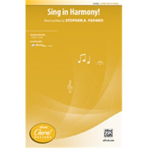 Alfred 00-41535 SING IN HARMONY-STRX CD