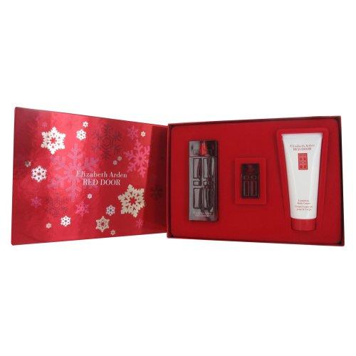 Elizabeth Arden Red Door 50ml Eau de Toilette, 100ml Body Lotion and 5ml Miniature Gift Set for Women