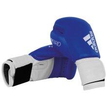 adidas 100 Hybrid Boxing MMA Training Sparring Bag Gloves Blue