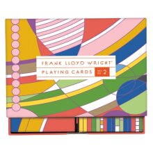 Frank Lloyd Wright Playing Card Set by McMenemy & Sarah
