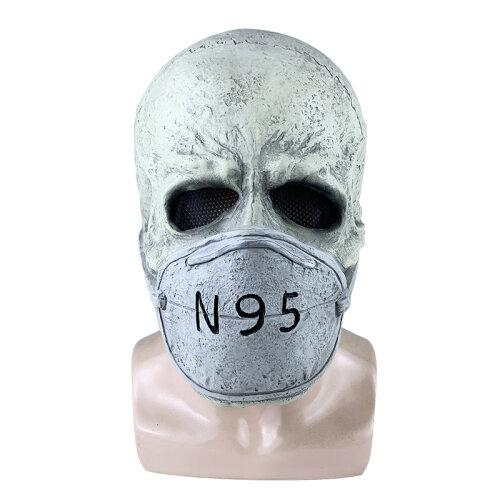Halloween Latex Mask New Virus Horror Mask Bacteria Mask Cosplay Props