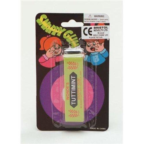 Snappy Chewing Gum Joke Trick - Party Bag Gag Shock Funny Jokes Practical Prank -  snappy gum chewing party bag joke trick gag shock funny jokes
