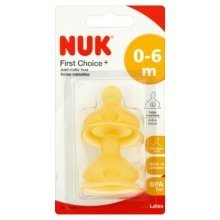 Nuk First Choice+ Size 1 Latex Teat Small (0-6)