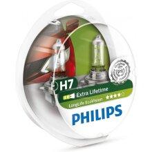 headlight Long Life Ecovisionset H7 12V 55W 2 pieces