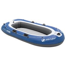Inflatable Boat - Blue/White
