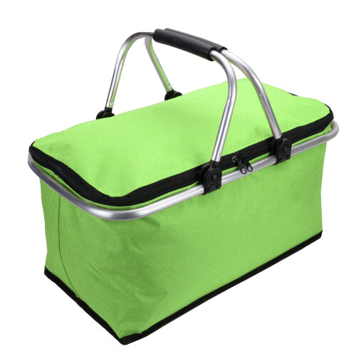 (Green) 30L Large Insulated Folding Picnic Bag