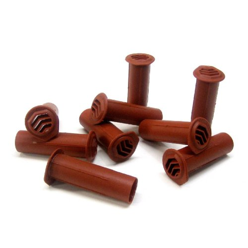 5 x Terracotta Round Drill Weep Vents Cavity Rendered, Retaining Walls