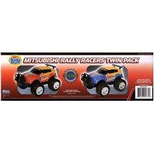 Kids Stuff Mitsubishi Rally Racers - Twin Pack Race Cars