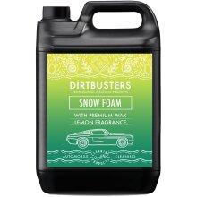 Dirtbusters lemon snow foam shampoo cleaner with wax 5l