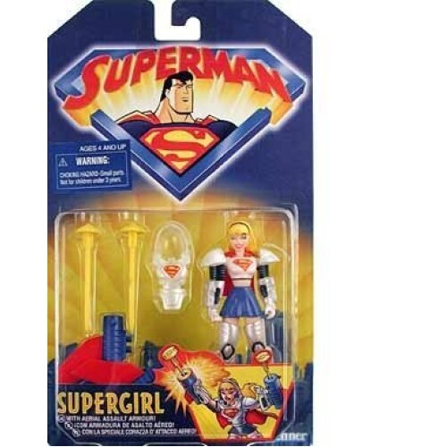 """Superman The Animated series SUPERGIRL 5"""" Action Figure (1998 Kenner)"""
