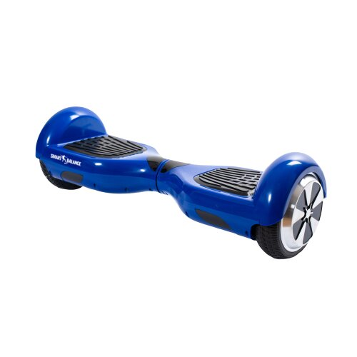 Hoverboard Smart Balance™ Premium Brand, Regular Blue, 6.5 inch, Bluetooth, Built-in speakers, AutoBalans, 350W
