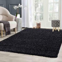 Abaseen Soft Shaggy Rug Non Shed For Living Room