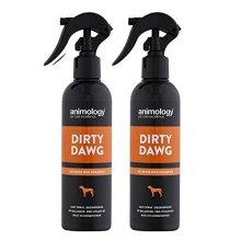 Dirty Dawg Pup No-Rinse Shampoo Dog Spray 250ml, Twin Pack