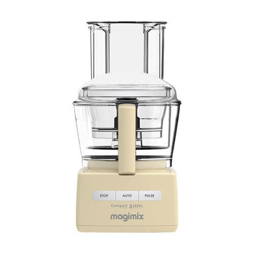 Magimix 3200XL 18375 2.6 Litre Food Processor With 17 Accessories - Cream