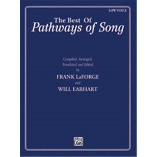 Alfred 00-39937 PATHWAYS OF SONG BEST-LO-BK&2CD