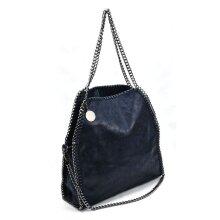 VK5326-2 BLUE - Shoulder Bag With Chain Handle
