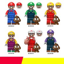 Super Mario Fit Lego Minifigures Toy Collection