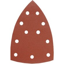 KWB Quick Stick Sanding Triangles, 4930, Wood and Metal – 100 x 147 mm – 70