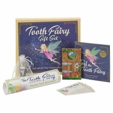 Childs 1st Tooth,Tooth Fairy Dust Gift Set,Teeth Cleaning Rules etc