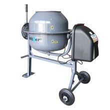 Switzer Electric Cement Mixer – Portable Mortar Plaster Concrete Drum – 250W 70L