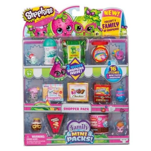 Shopkins Family Mini Packs Shopper Pack Assortment