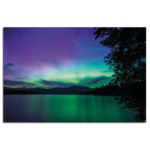 BBC Earth Northern Lights Poster