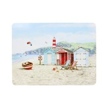 Set Of 4 Sandy Bay Placemats Kitchen Tableware Dining Serving Mat Drink Decor
