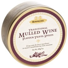 Simpkins Travel Sweets Mulled Wine Drops 200g