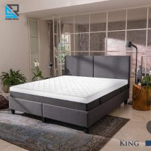 King Size Quilted Mattress Protector Bed Sheet Cover 150 x 200 Cm