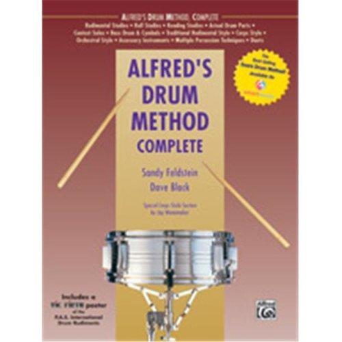 Alfred 00-39273 ALFREDS DRUM METHOD COMP-BK&POSTER