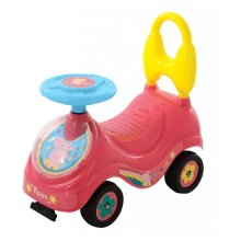 Peppa Pig Kids Toddlers Girls My First Ride On Sit Car Pink Kids Childs M07215